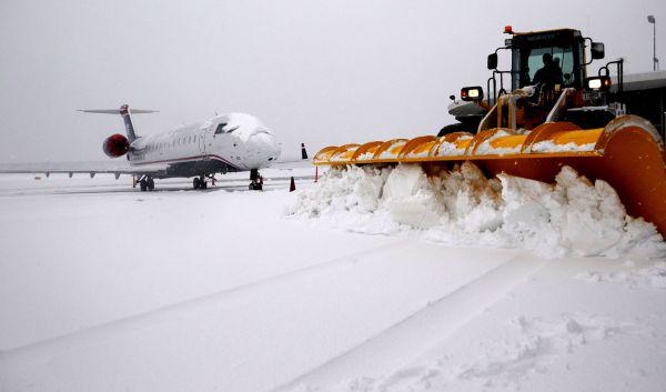 alertes chutes de neige aéroport