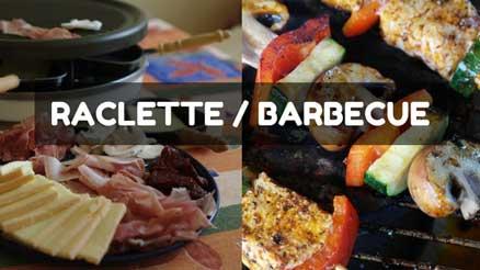 gestion des approvisionnements - barbecue vs raclette