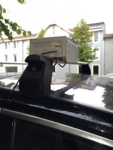 Capteurs intelligents voiture connectée