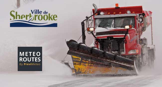 Sherbrooke a adopté l'outil d'aide à la décision Météo Routes