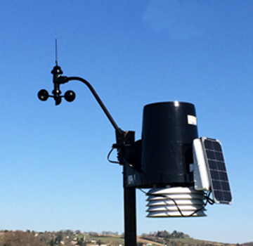 Station météo agricole professionnelle