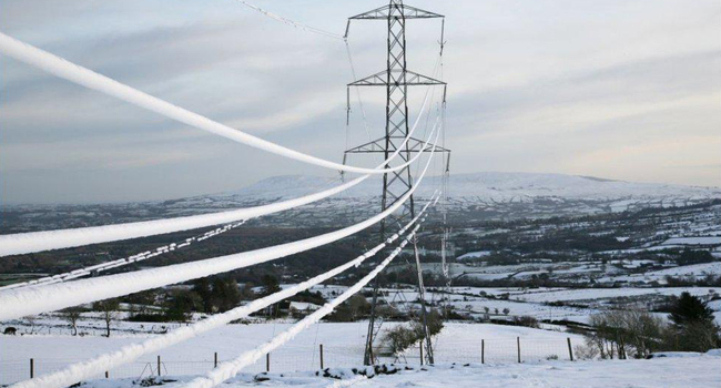 Météosensibilité de l'électricité