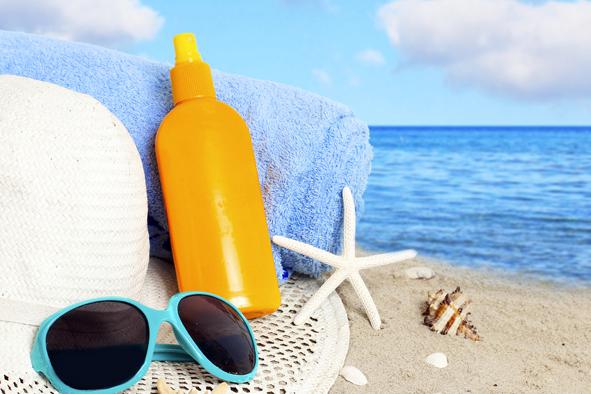Ventes de crèmes solaires