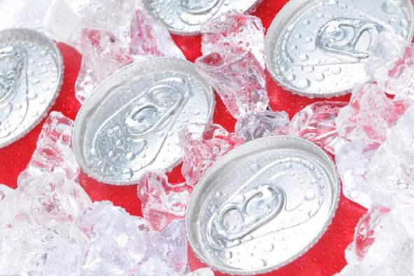 Canicule = hausse des ventes des sodas